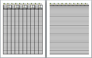 image about Printable Geocache Log identify No cost Printable Log Sheets, Stash Notes and Excess! Flooring Zero