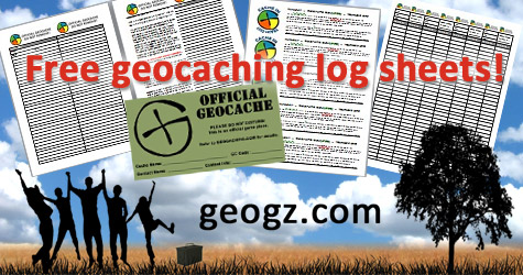 image regarding Official Geocache Printable titled Absolutely free Printable Log Sheets, Stash Notes and Far more! Flooring Zero